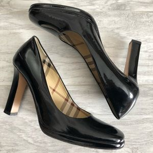Burberry Patent Leather Heels